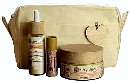 Parfémy, Parfumerie, kosmetika Sada - Shy Deer Zero Waste Set (elixir/30ml+body/butter/100ml+lip/butter/12ml+bag)
