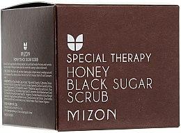 Parfémy, Parfumerie, kosmetika Peeling s černým cukrem a medem - Mizon Honey Black Sugar Scrub