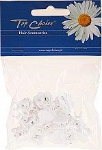 Parfémy, Parfumerie, kosmetika Skřipce do vlasů 18 ks, 25211, srdíčko - Top Choice