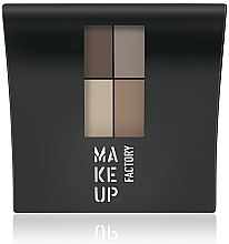 Parfémy, Parfumerie, kosmetika Matné oční stíny - Make Up Factory Mat Eye Colors