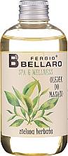 Parfémy, Parfumerie, kosmetika Masážní olej Zelený čaj - Fergio Bellaro Massage Oil Green Tea