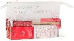 Parfémy, Parfumerie, kosmetika Sada - Swissdent Extreme Promo Kit (toothpaste/50ml+mouth/spr/9ml+soft/toothbrush/1pc+bag)