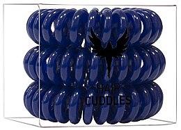 Parfémy, Parfumerie, kosmetika Gumička na vlasy, tmavě modrá - HH Simonsen Hair Cuddles Dark Blue