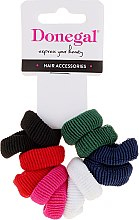 Parfémy, Parfumerie, kosmetika Různobarevné vlasové gumičky, 12 ks - Donegal Ponytail Holder Mix