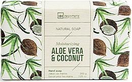 Parfémy, Parfumerie, kosmetika Mýdlo - IDC Institute Moisturizing Hand Natural Soap Aloe Vera & Coconut