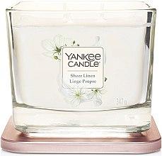 Parfémy, Parfumerie, kosmetika Aromatická svíčka - Yankee Candle Elevation Sheer Linen
