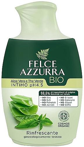 Tekuté intimní mýdlo - Felce Azzurra BIO Aloe Vera&Green Tea