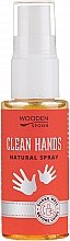Parfémy, Parfumerie, kosmetika Antibakteriální sprej na ruce - Wooden Spoon Clean Hands Natural Spray