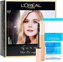 Parfémy, Parfumerie, kosmetika Sada - L'Oreal Paris (mascara/6.4ml + remover/125ml)