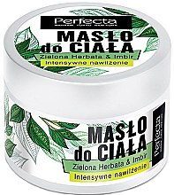 "Parfémy, Parfumerie, kosmetika Tělové máslo ""Zelený čaj a zázvor"" - Perfecta Green Tea & Ginger Body Butter"