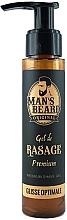 Parfémy, Parfumerie, kosmetika Gel na holení - Man's Beard Gel De Rasage Premium