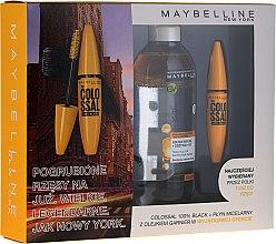 Parfémy, Parfumerie, kosmetika Sada - Maybelline (mascara/10.7ml + mic/water/400ml)