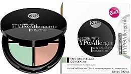 Parfémy, Parfumerie, kosmetika Hypoalergenní korektor na obličej - Bell Hypoallergenic Skin Camouflage Concealer