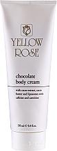 Parfémy, Parfumerie, kosmetika Čokoládový tělový krém - Yellow Rose Chocolate Body Cream
