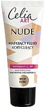 Parfémy, Parfumerie, kosmetika Matující make-up - Celia Nude Mattifying Foundation