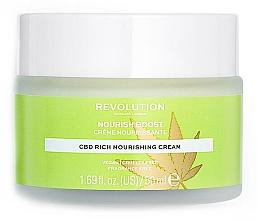 Parfémy, Parfumerie, kosmetika Hydratační pleťový krém - Revolution Skincare CBD Nourish Boost Cream