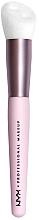 Parfémy, Parfumerie, kosmetika Štětec na líčení - NYX Professional Makeup Bare With Me Shroombiotic Serum Brush