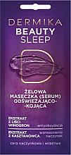 Parfémy, Parfumerie, kosmetika Osvěžující a zklidňující gelová maska - Dermika Beauty Sleep