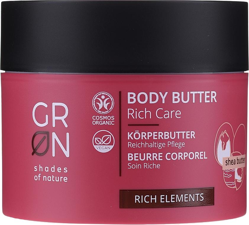 Tělový olej - GRN Rich Elements Shea Body Butter — foto N1