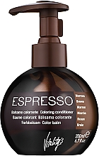 Parfémy, Parfumerie, kosmetika Balzám se zbarvujícím účinkem - Vitality's Art Espresso