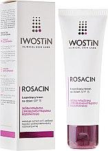 Parfémy, Parfumerie, kosmetika Uklidňující denní krém - Iwostin Rosacin Soothing Day Cream Against Redness SPF 15