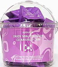Parfémy, Parfumerie, kosmetika Čisticí pěna s kolagenem - Ayoume Enjoy Mini Collagen Cleansing Foam