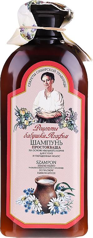 "Šampon ""Kysané mléko"" - Recepty babičky Agafyy"