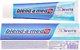"""Parfémy, Parfumerie, kosmetika Zubní pasta """"Chladný čerstvost"""" - Blend-a-med 3D White Fresh Cool Water Toothpaste"""
