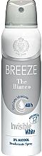 Parfémy, Parfumerie, kosmetika Breeze Deo Spray The Bianco - Tělový deodorant