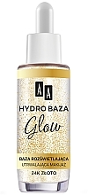 Parfémy, Parfumerie, kosmetika Fixační báze pod make-up - AA Hydro Baza Glow