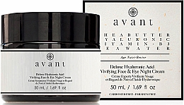 Parfémy, Parfumerie, kosmetika Noční krém s kyselinou hyaluronovou - Avant Skincare Deluxe Hyaluronic Acid Night Cream