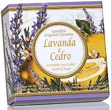 Parfémy, Parfumerie, kosmetika Prírodní mýdlo Levandule a cedr - Saponificio Artigianale Fiorentino Capri Lavender & Cedar