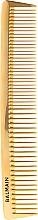 Parfémy, Parfumerie, kosmetika Profesionální zlatý hřeben na stříhání - Balmain Paris Hair Couture Golden Cutting Comb