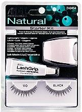 Parfémy, Parfumerie, kosmetika Sada umělých řas - Ardell Natural Starter Kit Black 110