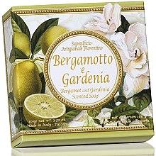 Parfémy, Parfumerie, kosmetika Prírodní mýdlo Bergamot a gardénie - Saponificio Artigianale Fiorentino Capri Bergamot & Gardenia Soap