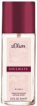 Parfémy, Parfumerie, kosmetika S.Oliver Soulmate Women - Parfémovaný deodorant