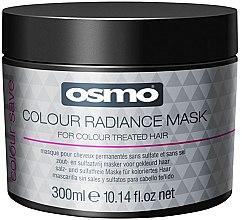 Parfémy, Parfumerie, kosmetika Maska pro barevné vlasy - Osmo Colour Save Colour Radiance Mask