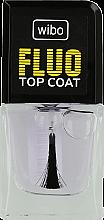Parfémy, Parfumerie, kosmetika Bezbarvý lak na nehty - Wibo Fluo Top Coat