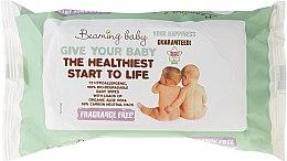 Parfémy, Parfumerie, kosmetika Dětské vlhčené ubrousky bez vůně - Beaming Baby Organic Baby Wipes