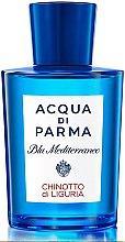 Parfémy, Parfumerie, kosmetika Acqua di Parma Blu Mediterraneo Chinotto di Liguria - Toaletní voda Tester (bez víčka)