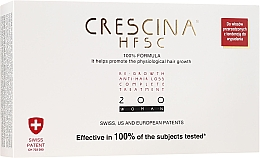 Parfémy, Parfumerie, kosmetika Komplex pro léčbu vypadávání vlasů u žen 200 - Crescina Re-Growth HFSC Formula 100%