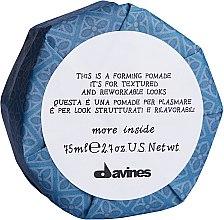 Parfémy, Parfumerie, kosmetika Tvarující pomáda na vlasy - Davines More Inside This is a Forming Pomade