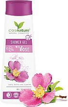 Parfémy, Parfumerie, kosmetika Pečující sprchový gel - Cosnature Shower Gel Wild Rose