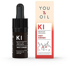 Parfémy, Parfumerie, kosmetika Směs esenciálních olejů - You & Oil KI-Wet Cough Touch Of Welness Essential Oil
