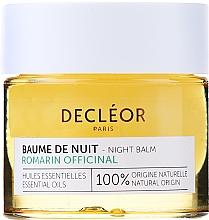 Parfémy, Parfumerie, kosmetika Noční pleťový balzám - Decleor Rosemary Officinalis Night Balm (mini)
