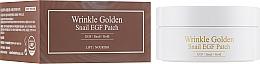 Parfémy, Parfumerie, kosmetika Hydrogelové náplasti pod oči se zlatem a hlemýždím mucinem - The Skin House Wrinkle Golden Snail EGF Patch