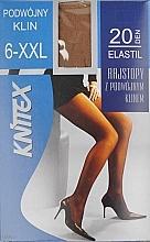 Parfémy, Parfumerie, kosmetika Dámské punčocháče Elastil 20 Den, Beige - Knittex