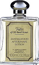 Parfémy, Parfumerie, kosmetika Taylor Of Old Bond Street Sandalwood Aftershave Lotion Alcohol-Based - Lotion po holení