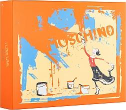 Parfémy, Parfumerie, kosmetika Moschino I Love Love - Sada (edt/50ml + b/lot/100ml + sh/gel/100ml)
