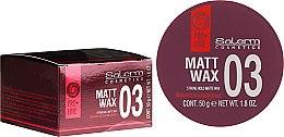 Parfémy, Parfumerie, kosmetika Matný vosk na styling vlasů - Salerm Matt Wax